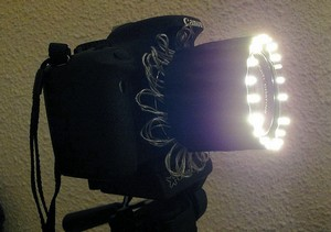 ... For The Fiber Optic Flash: Http://fuzzcraft.com/ringlight4 0.html · On  The Bottom Of This Page There Are Some Interesting Links To Other DIY  Ringlight ...
